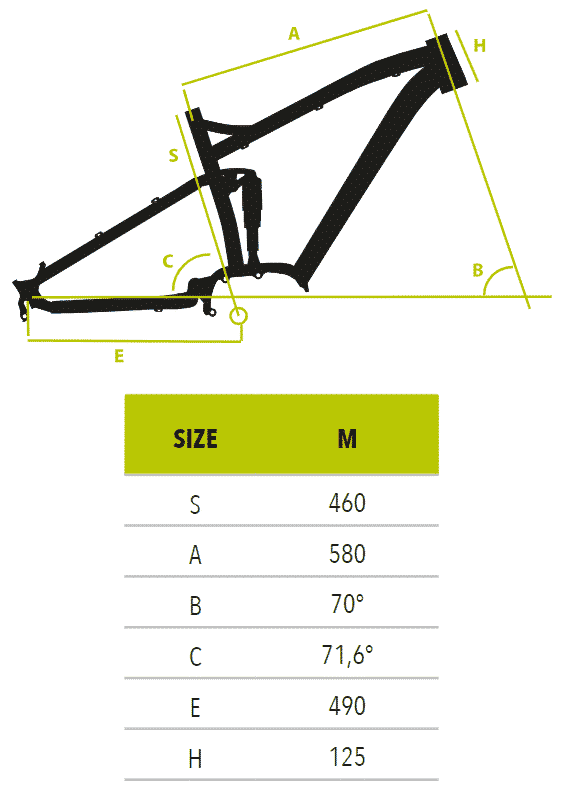"R6370-KRUG-27.5-Shimano-Deore-10V-measurements Vektor Ηλεκτρικό ποδήλατο Mountain 27.5"" S6370 - KRUG Shimano Deore 10v"