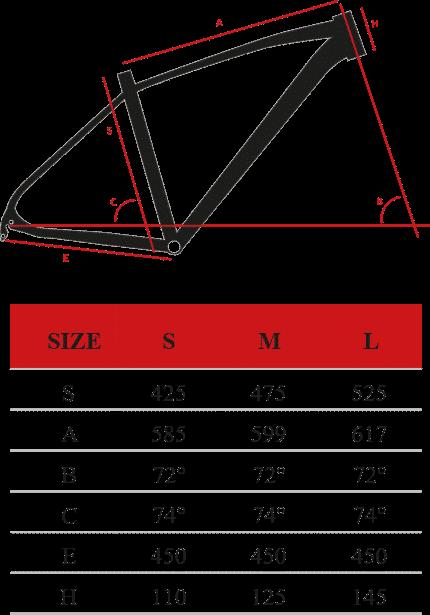 """urano-29 Montana Ποδήλατο βουνού 29"""" S290-D - URANO 29"""" ACERA 3X8 DISC"""